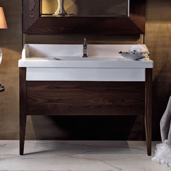 Bentley 47 Single Wood Bathroom Vanity Set by WS Bath Collections
