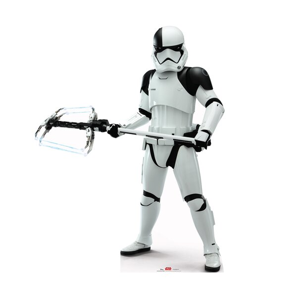 Star Wars VIII the Last Jedi Executioner Trooper™ Cardboard Cutout Standup by Advanced Graphics