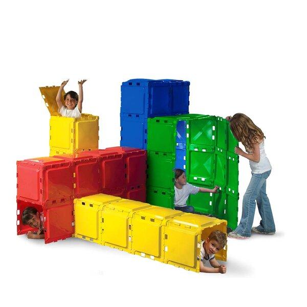 Brik A Blok Play Tunnel Set with Carrying Bag [Brik a Blok Toys]