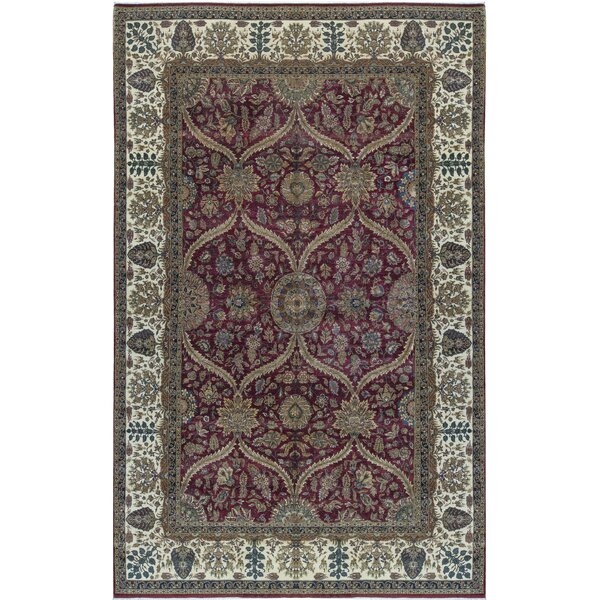 One-of-a-Kind Sona Hand-Knotted Brown/Red 11'10 x 18'10 Wool Area Rug