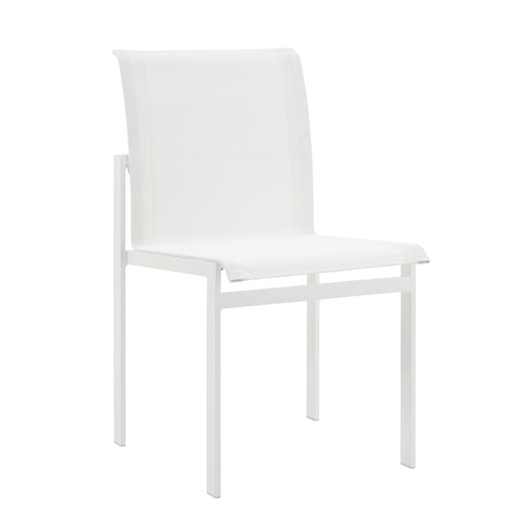 Santistevan Stacking Patio Dining Chair (Set of 2) by Orren Ellis