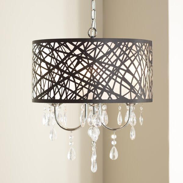 Mchone 4-Light Chandelier by House of Hampton