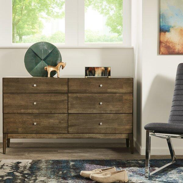 Johansen 6 Drawer Double Dresser by Kingstown Home
