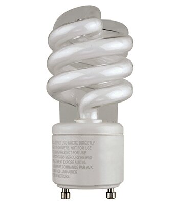 13W GU24 Fluorescent Light Bulb by TransGlobe Lighting