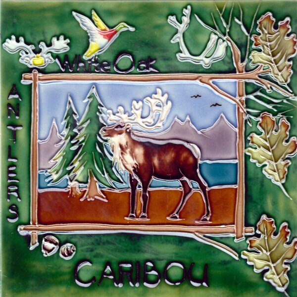 Nature Caribou Tile Wall Decor by Continental Art Center