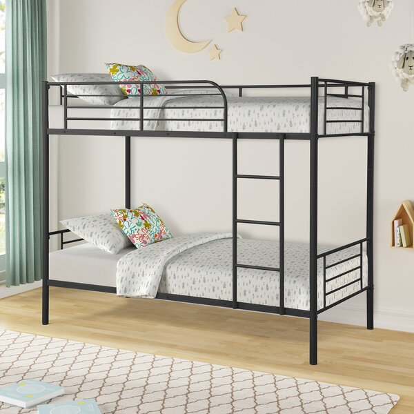 Finn Twin Bunk Bed by Harriet Bee