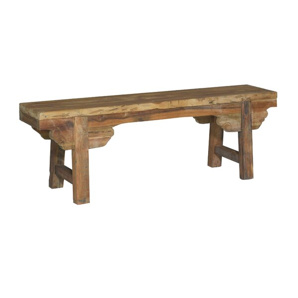 Knollview Wood Bench by Millwood Pines Millwood Pines