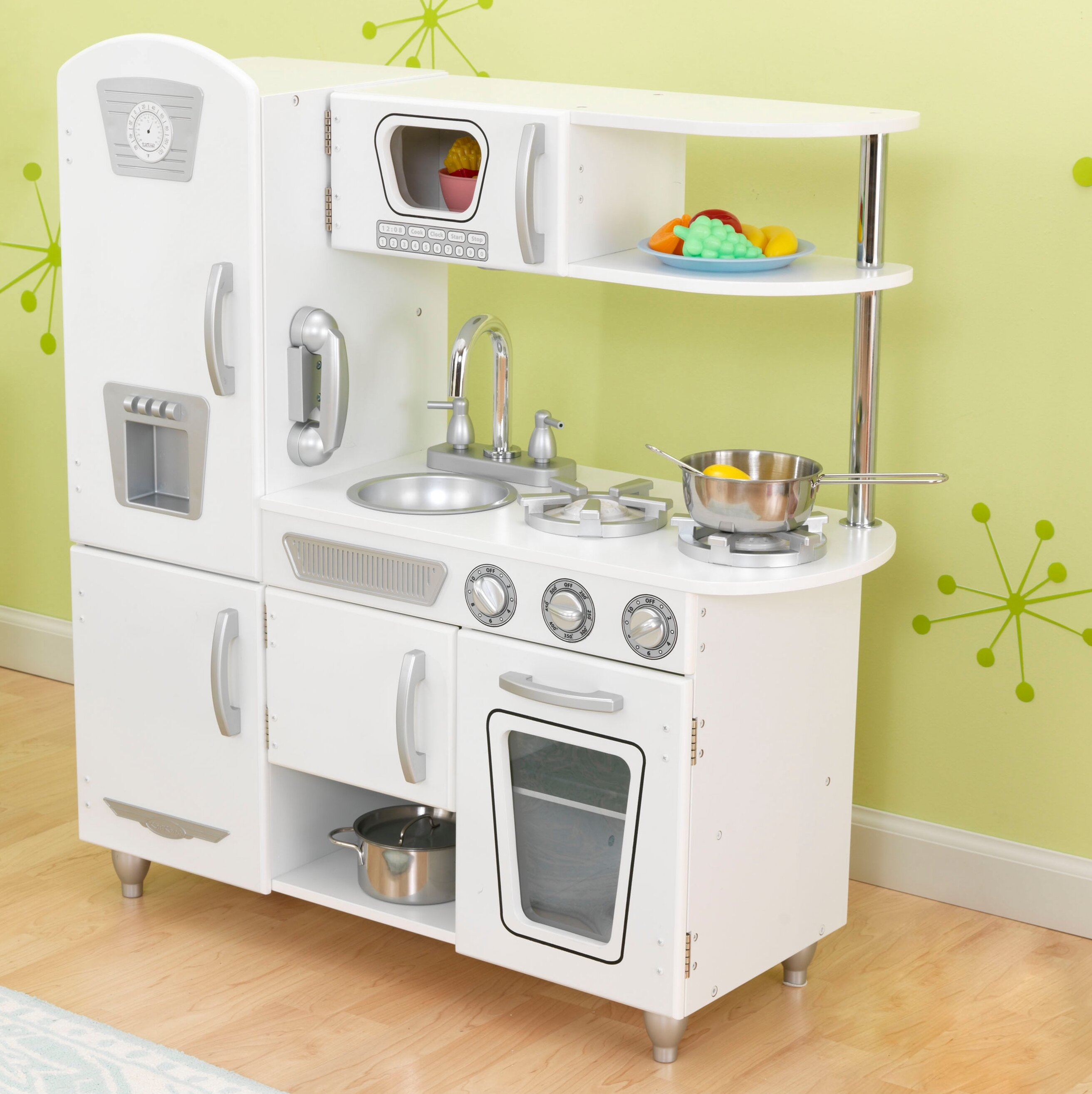 KidKraft Vintage Kitchen Set & Reviews | Wayfair