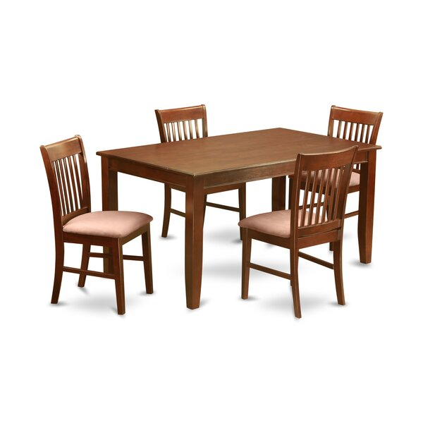Sisneros 5 Piece Dining Set by Charlton Home Charlton Home
