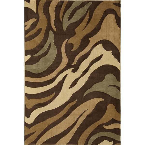 Jordan Brown Area Rug by Threadbind