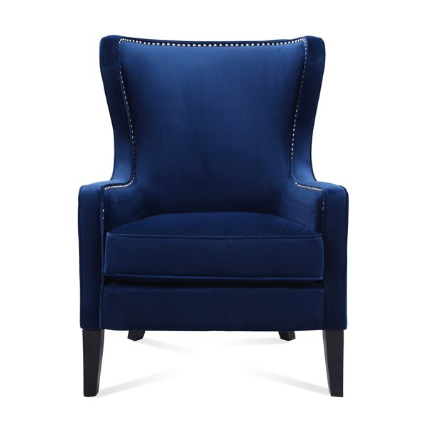 Devon 24 inch Wingback Chair by Home by Sean & Catherine Lowe