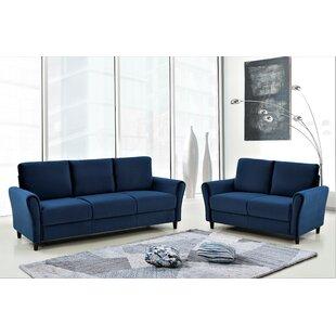 Amal 2 Piece Standard Living Room Set by Mercer41