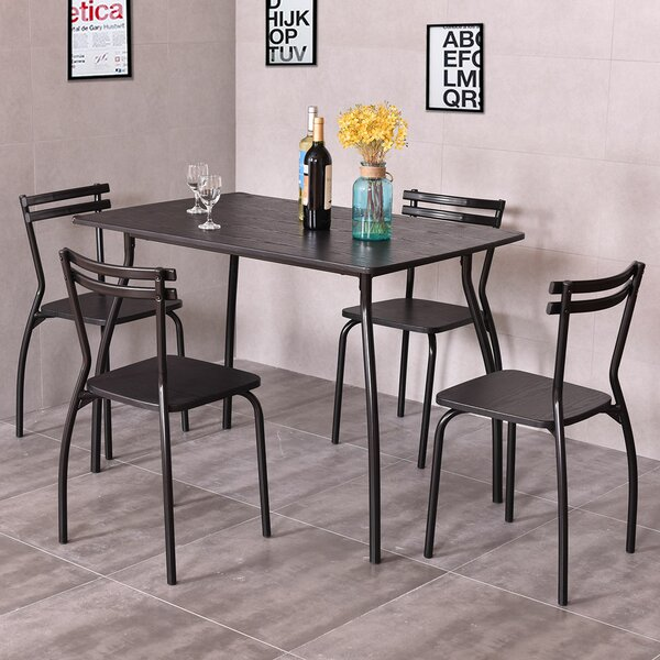 Mulvey 5 Piece Dining Set by Williston Forge