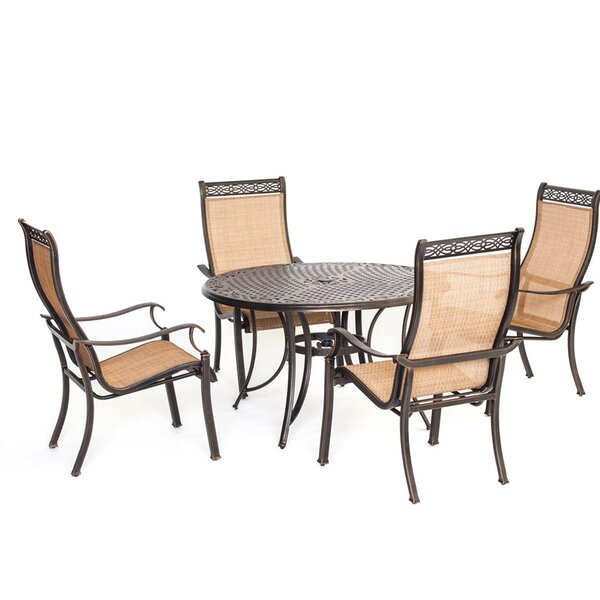 Barras 5 Piece Round Dining Set by Darby Home Co