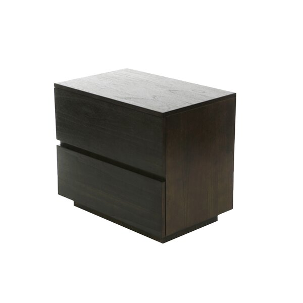 Hargreaves 2 Drawer Nightstand by Brayden Studio