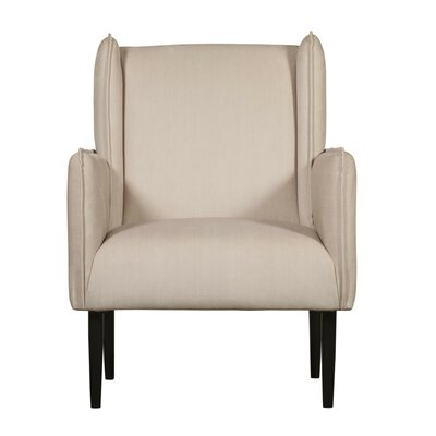 Wingback Chair Beige Cream img