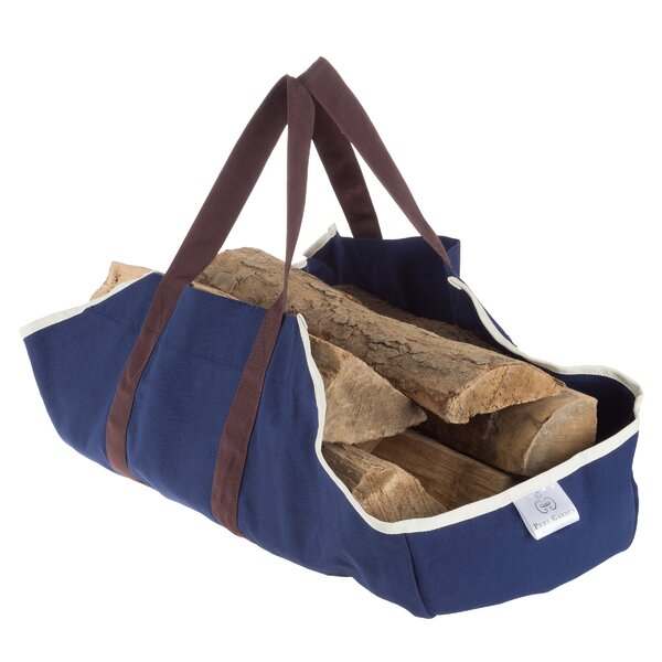 Tote Log Carrier By Pure Garden