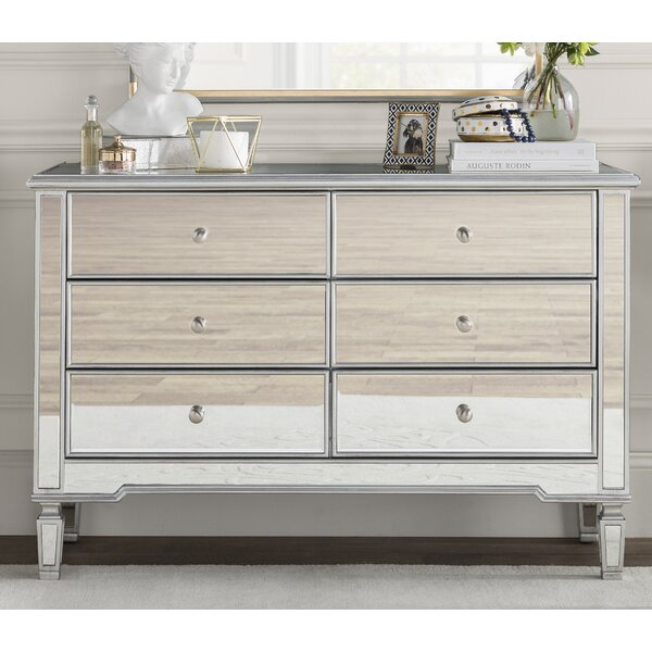 Orpha 6 Drawer Double Dresser by Rosdorf Park