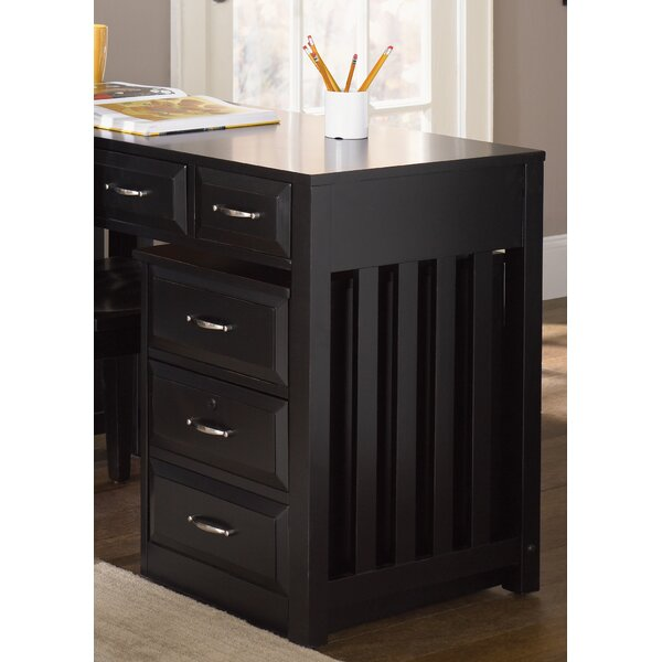 Nicolette 3-Drawer Mobile File Cabinet by Darby Home Co