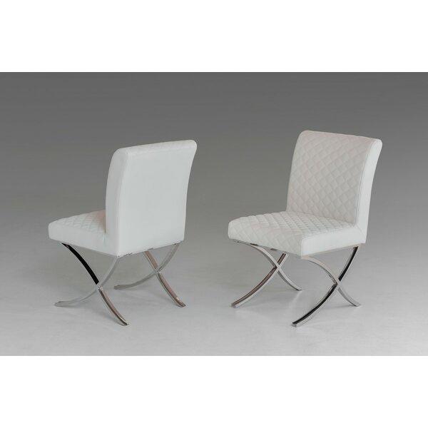Camron Modern Upholstered Dining Chair (Set Of 2) By Orren Ellis Orren Ellis