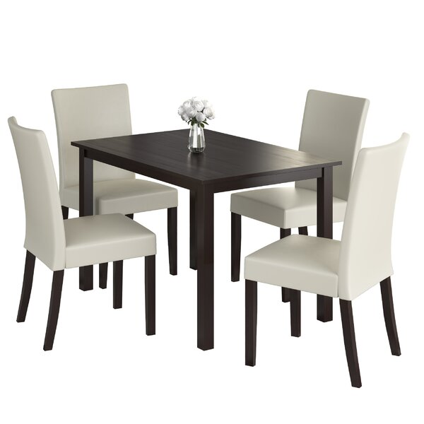 Isan 5 Piece Dining Set by Brayden Studio Brayden Studio