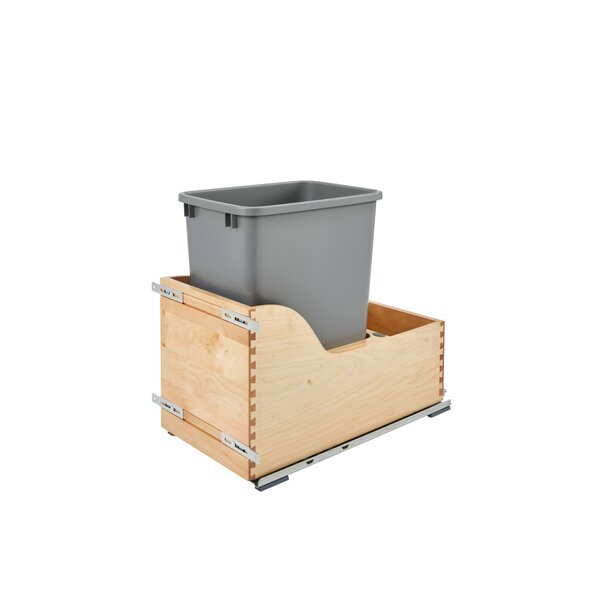10 Gallon Pullout Trash Can by Rev-A-Shelf