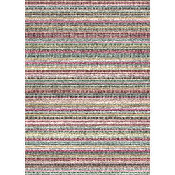 2 Piece Flatweave Blue/Pink/Yellow Indoor/Outdoor Area Rug Set by Ruggable