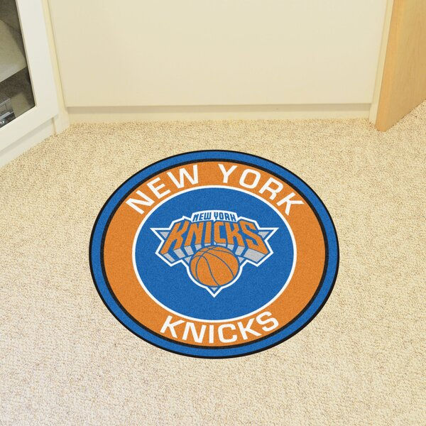 NBA New York Knicks Roundel Mat by FANMATS