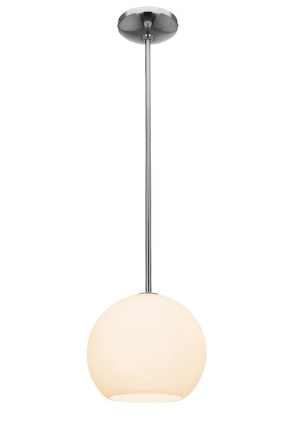 Caviness 1-Light Modern Pendant by Ebern Designs