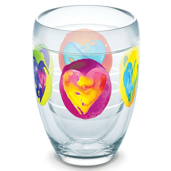 Seasonal 9 oz. Plastic Stemless Wine Glass by Tervis Tumbler