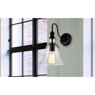 Savings Camile 1-Light Armed Sconce By Williston Forge
