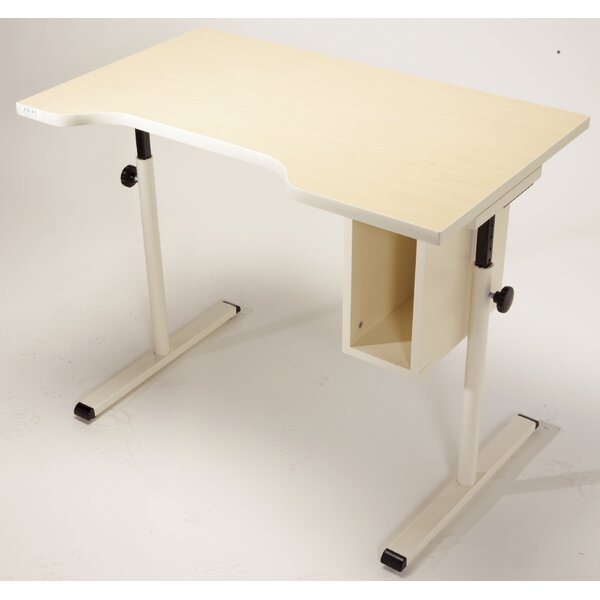 Knob Assist Series Drafting Table by Populas Furniture