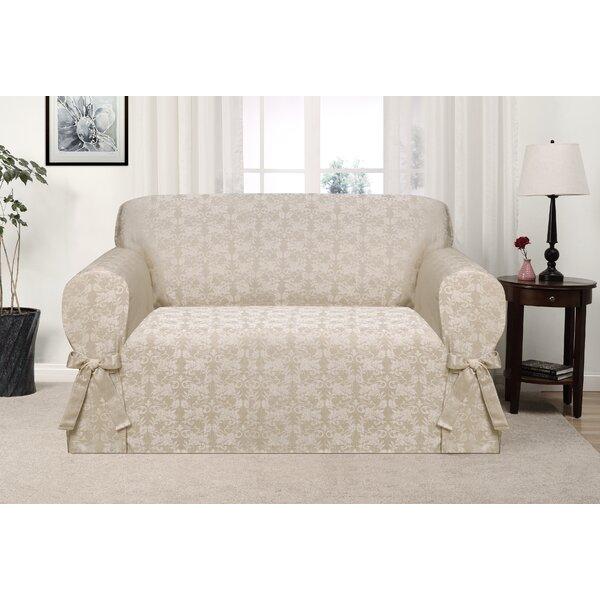 Discount Box Cushion Loveseat Slipcover