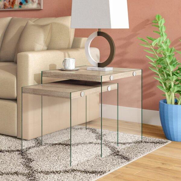 Home & Outdoor Garofalo 2 Piece Nesting Tables