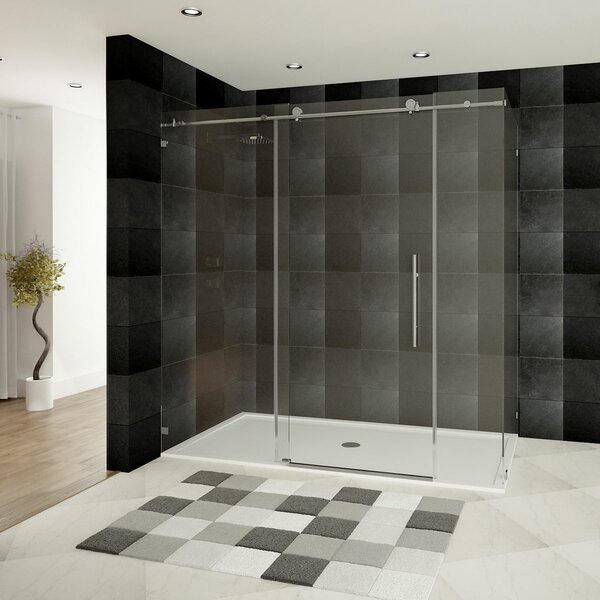 Ultra-C 72 x 76 Single Sliding Shower Door by LessCare