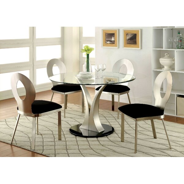New Rush 5 Piece Dining Set By Orren Ellis No Copoun
