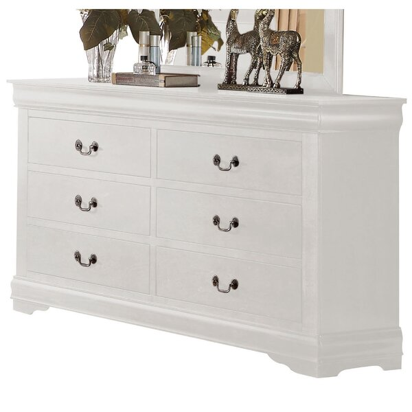 Emily 6 Drawer Double Dresser by Grovelane Teen