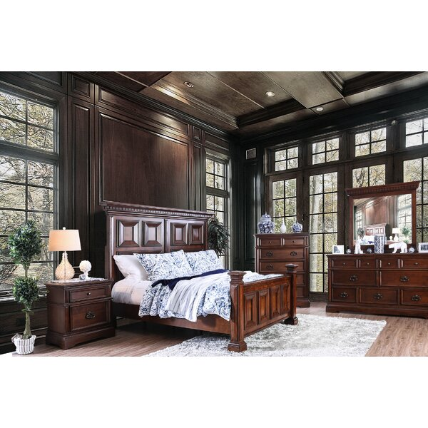 Encina Transitional Panel Configurable Bedroom Set by Canora Grey
