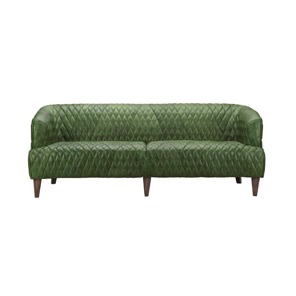 Amot Leather Sofa by Trent Austin Design