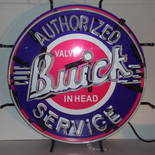 Buick Neon Sign by Neonetics