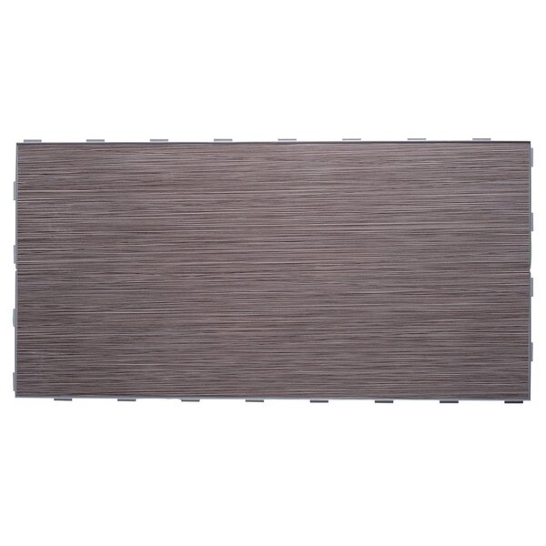 Luxury ThinLine 12 x 24 Porcelain Fabric Look/Field Tile in Graphite by SnapStone