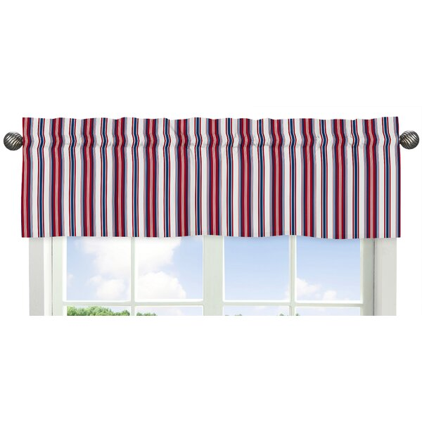 Nautical Nights Stripe 54 Window Valance by Sweet Jojo Designs