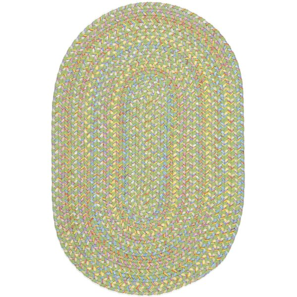 Sahaspur Lime Indoor/Outdoor Area Rug by Meridian Rugmakers