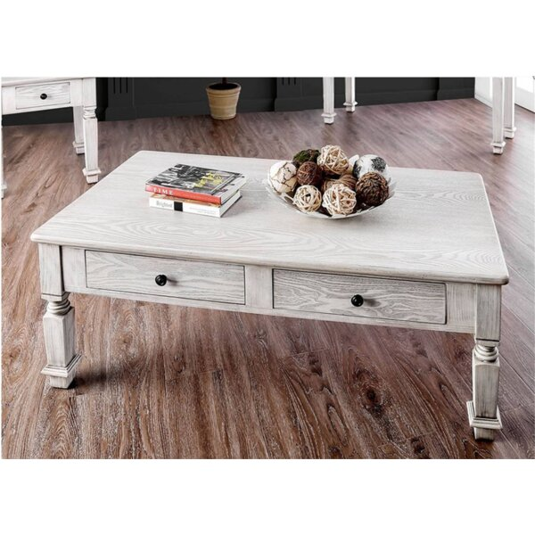 Christa Coffee Table With Storage By One Allium Way