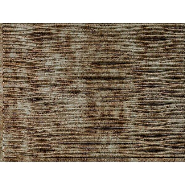 Gobi Backsplash Wall Paneling 18 x 24 Field Tile in Bermuda Bronze by MirroFlex