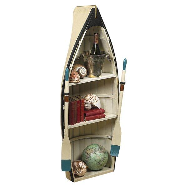 Amethyst Boat Bookcase By Breakwater Bay
