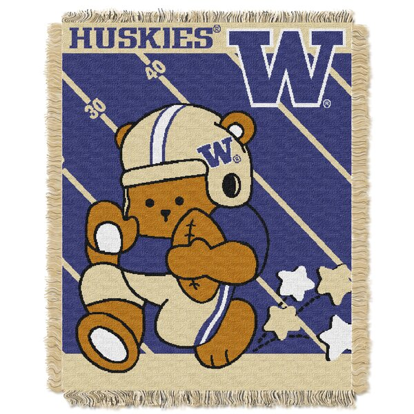 Collegiate Washington Baby Throw by Northwest Co.