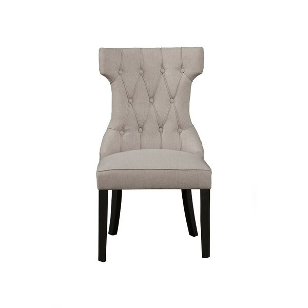 Fairbanks Button Tufted Upholstered Dining Chair (Set of 2) by Darby Home Co