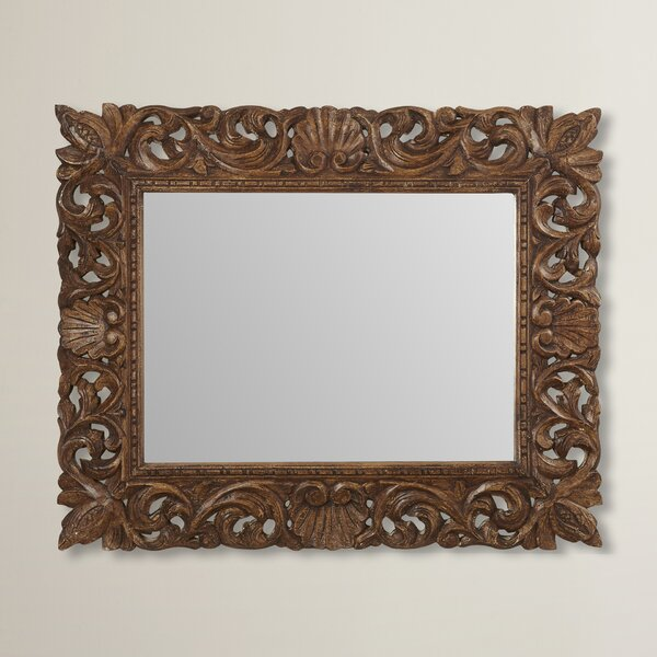 Reclaimed Wood Wall Mirror by World Menagerie