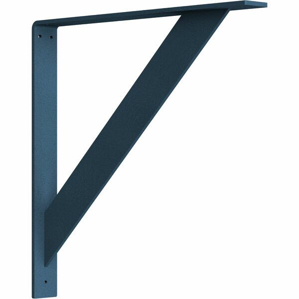 Traditional 18H x 2W x 18D Steel Bracket by Ekena Millwork